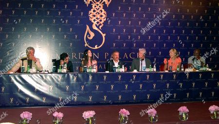 Tom Jones, Guest, Monica Bellucci, Telman Ismailov, Richard Gere, Sharon Stone and Seal