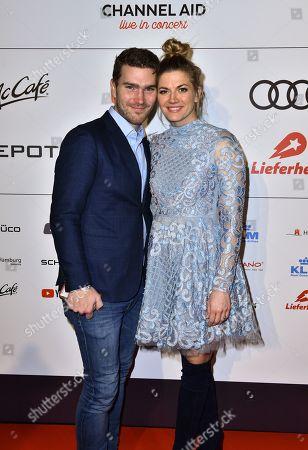 Nina Bott and Bejamin Baarz