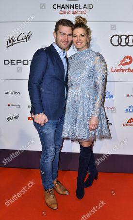 Nina Bott and Benjamin Baarz