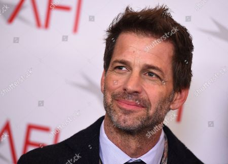 Stock Picture of Zack Snyder arrives at the 2018 AFI Awards at the Four Seasons on in Los Angeles