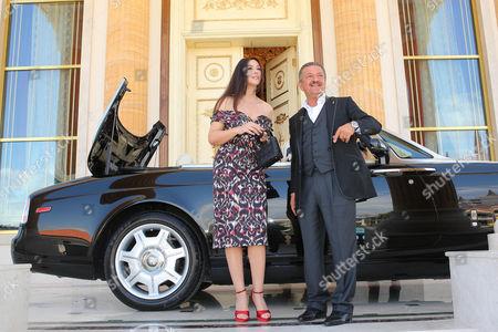 Monica Bellucci and Telman Ismailov