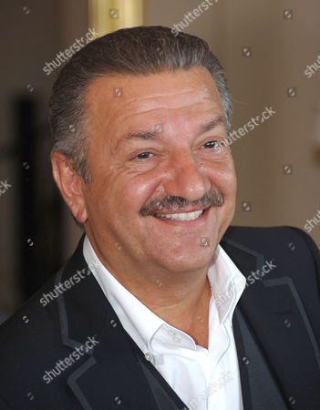 Stock Image of Telman Ismailov in his mansion in the grounds of Mardan Palace
