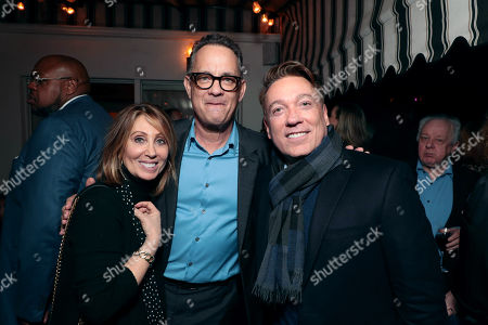 Stacey Snider, Chairman/CEO, 20th Century Fox, Tyrese Gibson, Tom Hanks, CAA's Kevin Huvane