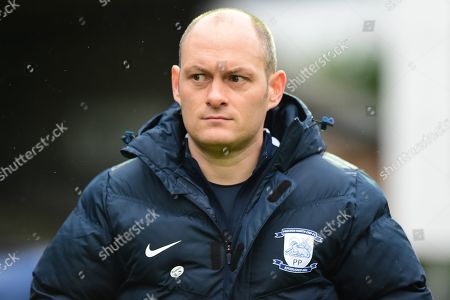 Preston North End manager Alex Neill during the The FA Cup 3rd round match between Wycombe Wanderers and Preston North End at Adams Park, High Wycombe