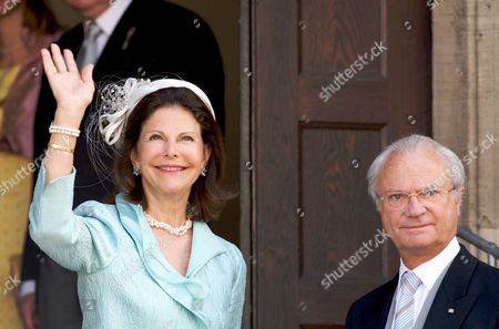 Queen Silvia  and King Carl Gustaf of Sweden