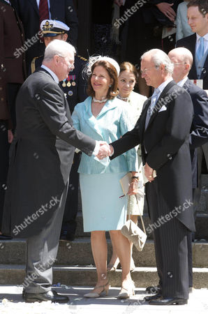 Editorial picture of Wedding of Prince Hubertus of Saxe-Coburg and Gotha and Kelly Rondestvedt, at Morizkirche church, Coburg, Germany - 23 May 2009