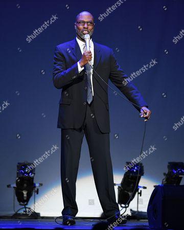 Editorial image of Mario Joyner in concert at the Seminole Hard Rock Hotel and Casino, Hollywood, USA - 05 Jan 2018