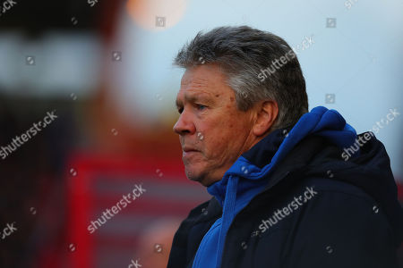 Steve Perryman, Director of Football of Exeter City during the FA Cup Third Round Match between Exeter City and West Bromwich Albion at St James Park, Exeter, Devon on January 6.