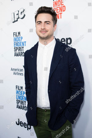 Matt Spicer poses for photographers upon arrival at the 33rd Annual Film Independent Spirit Award Nominee Brunch at BOA Steakhouse, in Los Angeles