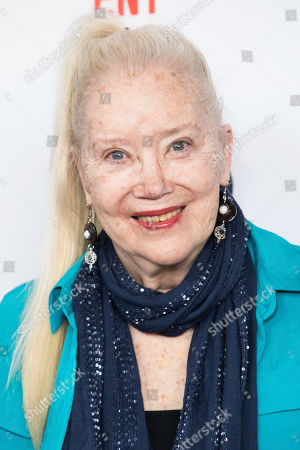 Stock Picture of Sally Kirkland poses for photographers upon arrival at the 33rd Annual Film Independent Spirit Award Nominee Brunch at BOA Steakhouse, in Los Angeles
