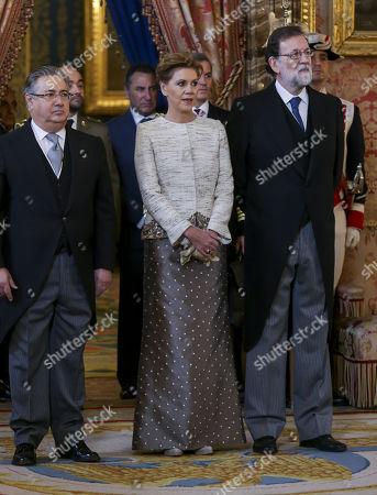 Maria Dolores Cospedal García, Mariano Rajoy, Juan Ignacio Zoido