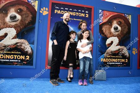 Jon Cryer, Lisa Joyner and family