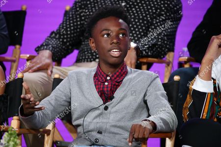 "Alex R. Hibbert at the ""The Chi"" Panel at Showtime TCA Winter Press Tour 2018"