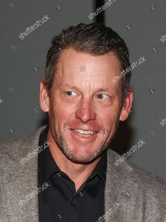 """Lance Armstrong attends a special screening of Netflix's """"Icarus"""" at 1 Hotel Brooklyn Bridge, in New York"""