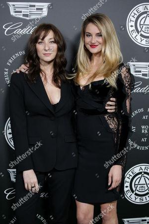 Isidora Goreshter and Shailene Woodley