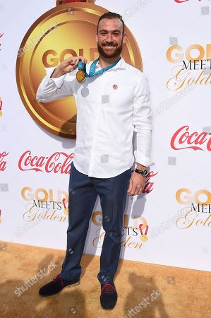 Stock Image of Ed Moses arrives at the 5th Annual Gold Meets Golden event on in Los Angeles
