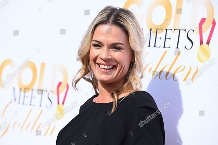 Cat Cora arrives at the 5th Annual Gold Meets Golden event on in Los Angeles