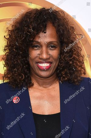 Jackie Joyner Kersee arrives at the 5th Annual Gold Meets Golden event on in Los Angeles