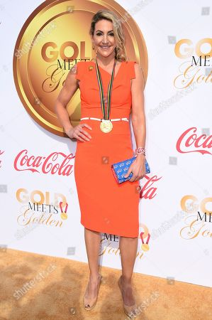 Summer Sanders arrives at the 5th Annual Gold Meets Golden event on in Los Angeles