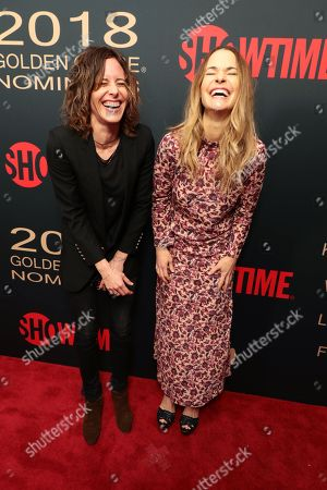 Katherine Moennig and Leisha Hailey