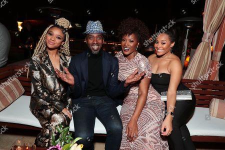 Tiffany Boone, Ntare Guma Mbaho Mwine, Yolonda Ross and Tai'isha Davis
