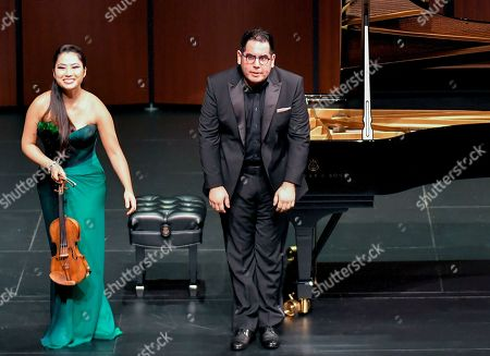 Sarah Chang and Julio Elizalde