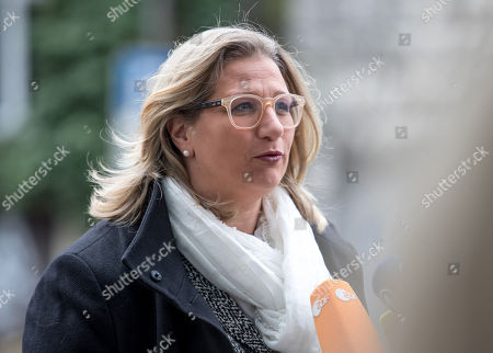Minister for Economic Affairs, Labor, Energy and Transport and Deputy Prime Minister in Saarland Anke Rehlinger of Social Democratic Party (SPD) arrives for exploratory talks at the SPD headquarters Willy-Brandt-Haus in Berlin, Germany, 06 January 2018. The leaders of CDU, CSU and SPD parties explore the opportunities for a grand coalition, including daily meetings at the parties' headquarters through 11 January.