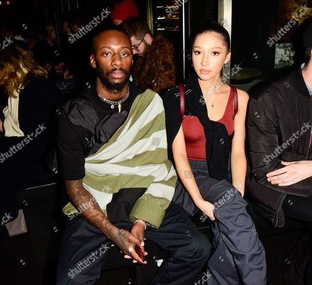 GoldLink, Amber Olivier in the Front Row