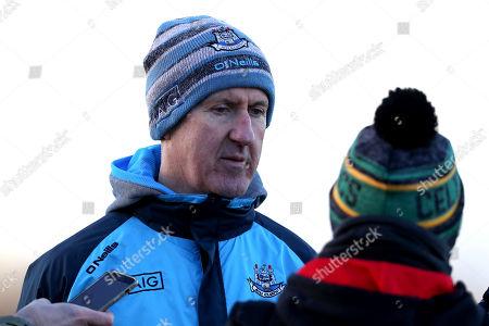 Wexford vs Dublin. Dublin's manager Paul Clarke