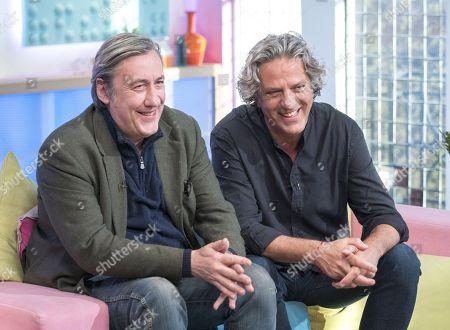 Andrew Graham-Dixon and Giorgio Locatelli