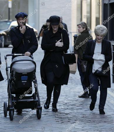 Kris Donnelly, Joanne Beckham and Sandra Beckham