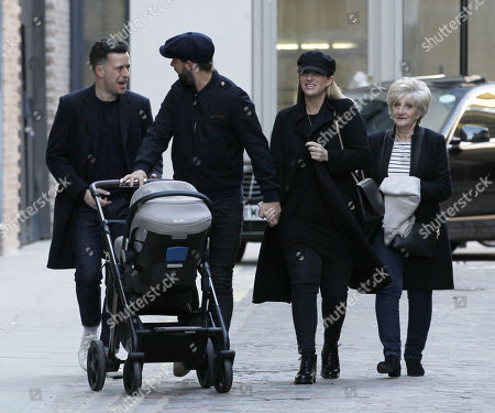 Stock Image of Kris Donnelly, Joanne Beckham and Sandra Beckham