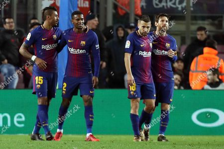 Editorial image of FC Barcelona vs. Levante, Spain - 07 Jan 2018
