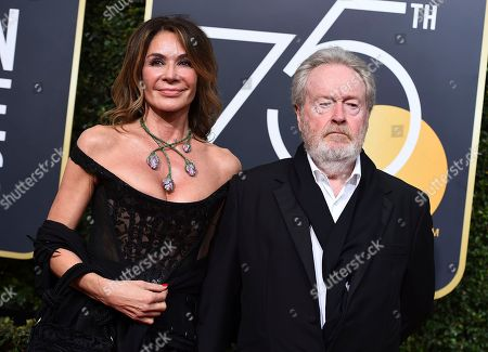 Editorial photo of 75th Annual Golden Globe Awards - Arrivals, Beverly Hills, USA - 07 Jan 2018