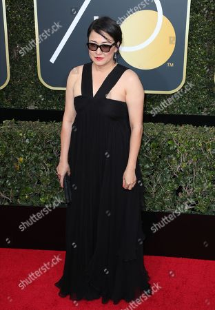 Producer Ramsey Ann Naito arrives for the 75th annual Golden Globe Awards ceremony at the Beverly Hilton Hotel in Beverly Hills, California, USA, 07 January 2018.