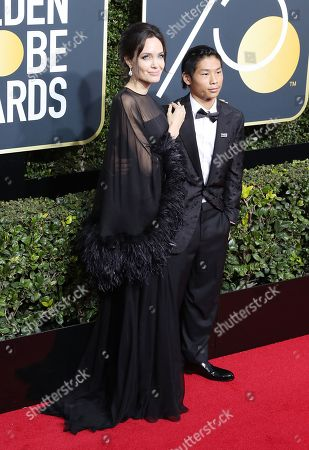 Editorial picture of Arrivals - 75th Golden Globe Awards, Beverly Hills, USA - 07 Jan 2018
