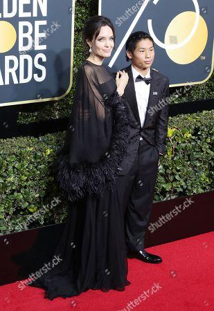 Angelina Jolie and Pax Thien Jolie-Pitt