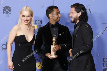 Emilia Clarke, Aziz Ansari, Kit Harrington