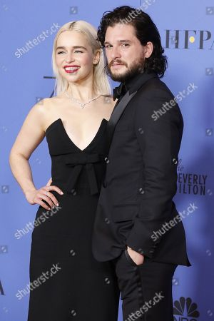 Emilia Clarke, Kit Harrington