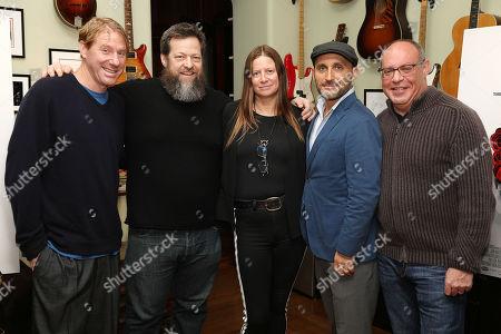 Eric Eisner, Nick Koskoff, Jane Rosenthal, Amir Bar-Lev and Alex Blavatnik