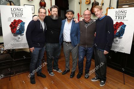 Andy Heller, Nick Koskoff, Amir Bar-Lev, Alex Blavatnik and Eric Eisner
