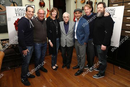 Andy Heller, Alex Blavatnik, Jane Rosenthal, Martin Scorsese, Amir Bar-Lev, Eric Eisner and Nick Koskoff
