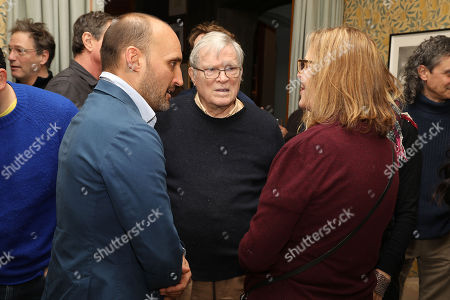 Stock Picture of Amir Bar-Lev (Director), D.A. Pennebaker and Chris Hegedus