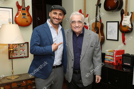 Stock Photo of Amir Bar-Lev (Director) and Martin Scorsese