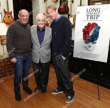 Alex Blavatnik, Martin Scorsese and Eric Eisner