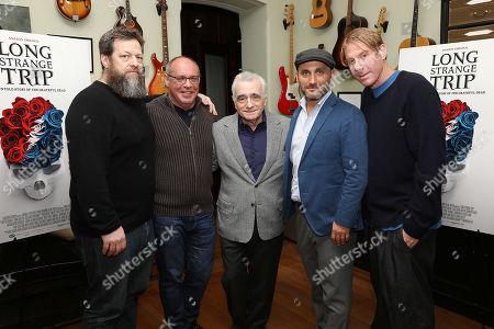Nick Koskoff, Alex Blavatnik, Martin Scorsese, Amir Bar-Lev and Eric Eisner