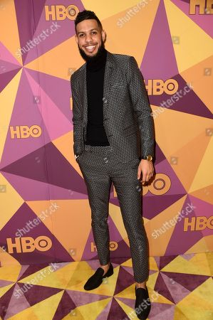 Stock Picture of Sarunas J. Jackson arrives at the HBO Golden Globes afterparty at the Beverly Hilton Hotel, in Beverly Hills, Calif