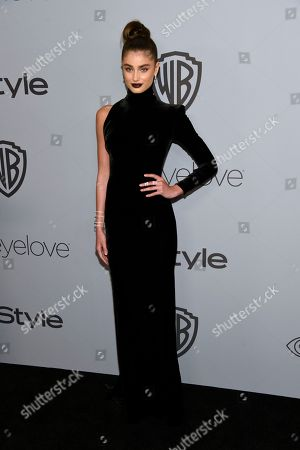 Editorial picture of 75th Annual Golden Globe Awards - InStyle and Warner Bros. Afterparty, Beverly Hills, USA - 07 Jan 2018