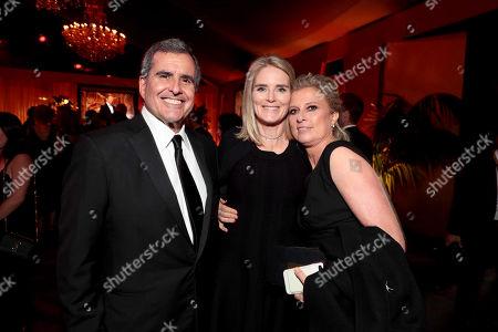 Peter Chernin, Emma Watts, Vice Chairman, Twentieth Century Fox Film, and President of Production, Twentieth Century Fox, Jenno Topping