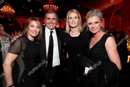 Stacey Snider, Chairman/CEO, Twentieth Century Fox Film, Peter Chernin, Emma Watts, Vice Chairman, Twentieth Century Fox Film, and President of Production, Twentieth Century Fox, Jenno Topping